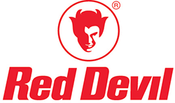 Red Devil paint shaker logos
